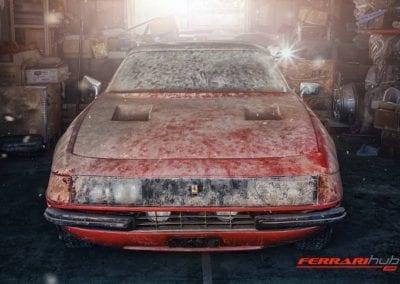 Ferrari Daytona Barn Find Ferrarihub 0007