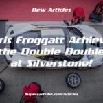 Chris Froggatt achieves the Double Double at Silverstone!