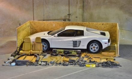 When is a kit car not a kit car? – 1987 Ferrari Testarossa Project (#70235)