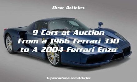 9 Cars at Auction – From a 1966 Ferrari 330 to a 2004 Ferrari Enzo