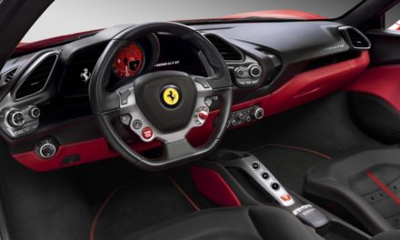 Thieves Abandon Stolen Ferrari 488