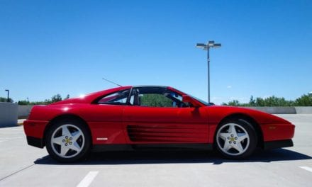 1992 Ferrari 348 TS shows at 29k miles (#91621)