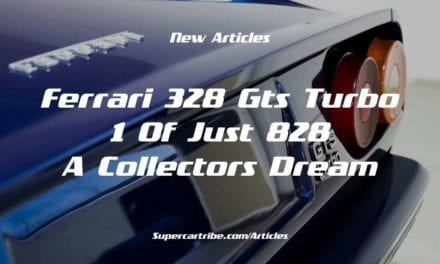 Ferrari 328 GTS Turbo – 1 of just 828 – A Collectors Dream