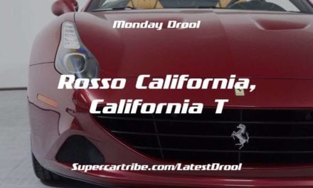 Monday Drool – Rosso California, California T