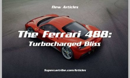The Ferrari 488: Turbocharged Bliss