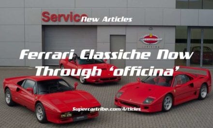 FERRARI CLASSICHE Now Through 'OFFICINA'