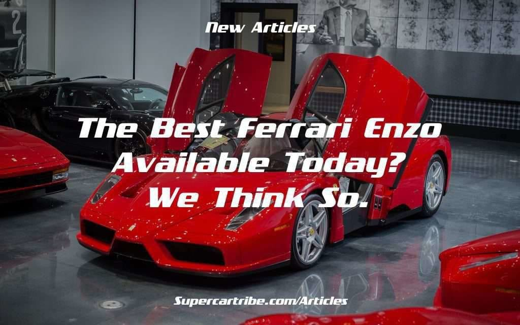 The Best Ferrari Enzo available today? We think so.