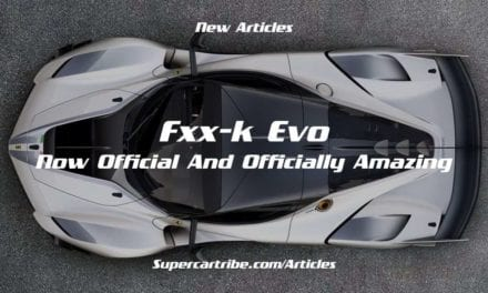 FXX-K Evo – Now official and officially amazing