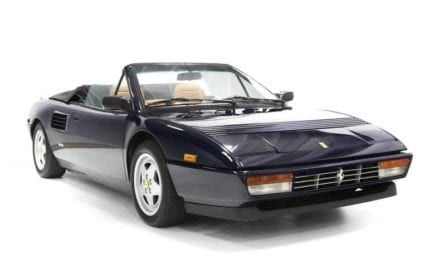 Ferrari Mondial QV Cabriolet – The Only Mid-Engine Convertible with Seating for Four. Ever.