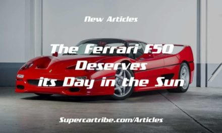 The Ferrari F50 Deserves its Day in the Sun
