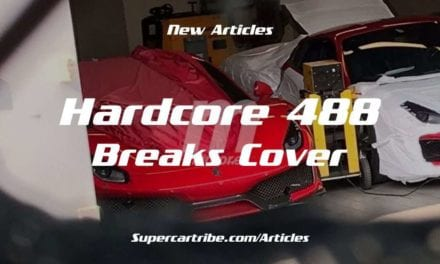 New Hardcore Ferrari 488 Successor to Speciale Breaks Cover
