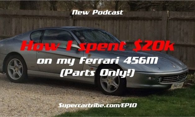 Episode 10 – How I spent over $20k on my Ferrari 456M Service (Parts Only!)