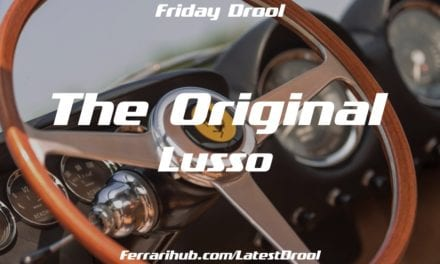 Friday Drool – The Original Lusso