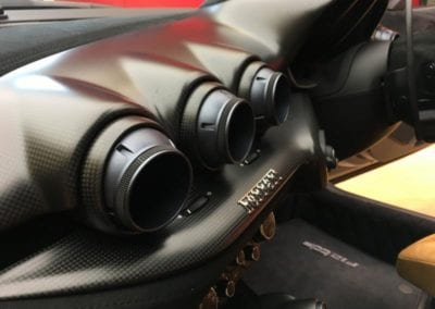 FerrariHub F12TDF Interior Podcast 3