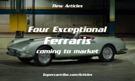 Four Exceptional Ferraris coming to market in 2018