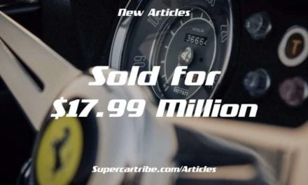 Ferrari 250 GT Spider California – The 18 million Dollar Car