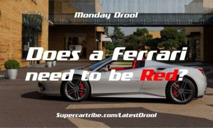 Monday Drool – Does a Ferrari need to be Red?