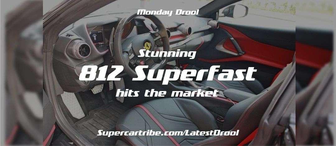 Monday Drool – Stunning Ferrari 812 Superfast Hits the Market