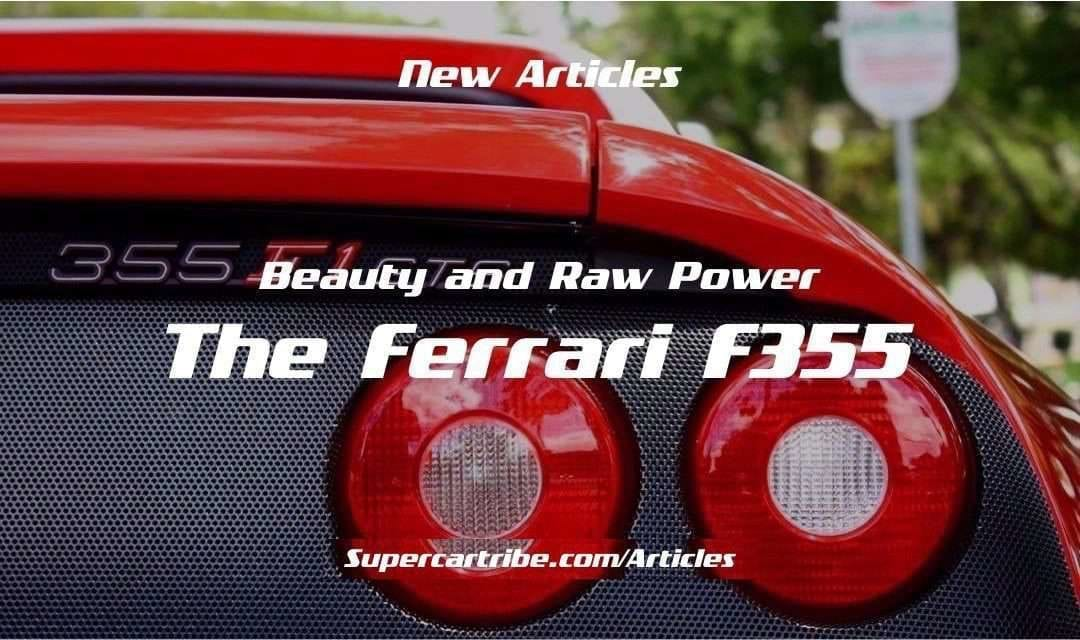 Beauty and Raw Power: The Ferrari F355