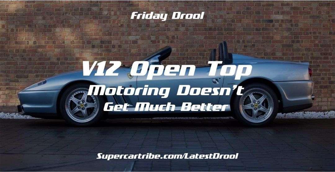V12 Open Top Motoring Doesn't Get Much Better – The Ferrari 550 Barchetta
