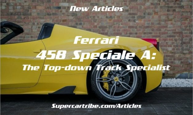 Ferrari 458 Speciale A: The Top-down Track Specialist