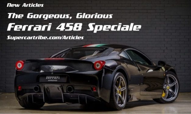 The Gorgeous, Glorious Ferrari 458 Speciale