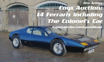 Coys Auction: 14 Ferraris including the Colonel's Car