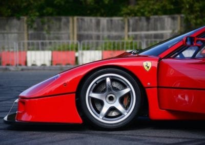 Ferrari EP12 F40LM Restoration Track Ferrarihub 0003