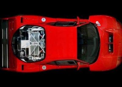 Ferrari EP12 F40LM Restoration Track Ferrarihub 0006