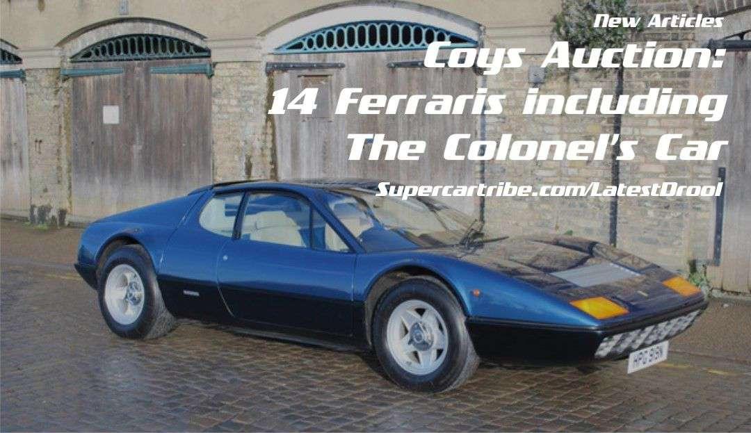 Coys Auction: 14 Ferraris including the Colonel's Car
