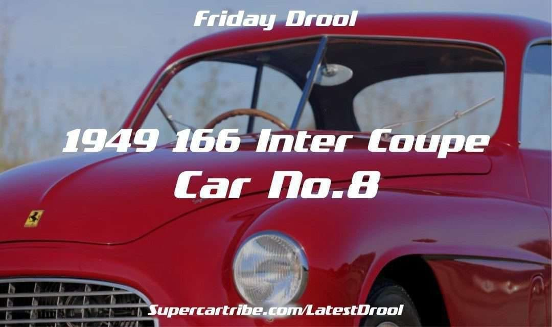 Friday Drool – 1949 Ferrari 166 Inter Coupe – Car No.8