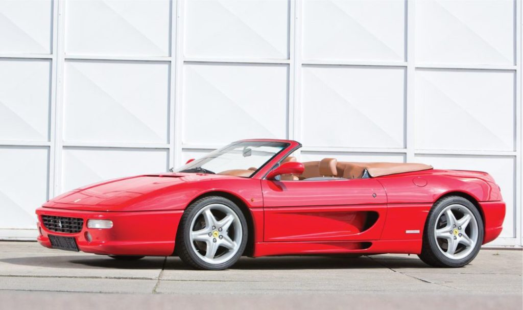 This image has an empty alt attribute; its file name is SupercarTribe-Ferrari-355-Spider-F1-Cover-1024x607.jpg