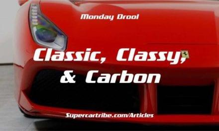 Monday Drool – Ferrari 488 GTB – Classic, Classy, & Carbon