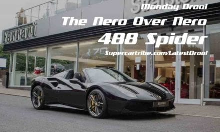 Monday Drool – The Nero Over Nero Ferrari 488 Spider
