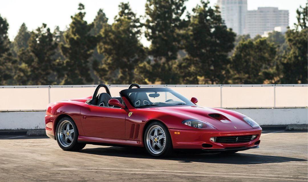 2000 Ferrari 550 Barchetta Pininfarina Wiki
