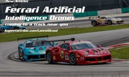Ferrari Artificial Intelligence Drones coming to a track near you
