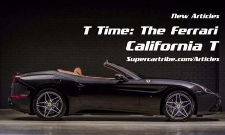 T Time: Why you must stop to consider the Ferrari California T