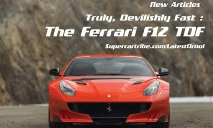 Truly, Devilishly Fast: The Ferrari F12 TDF
