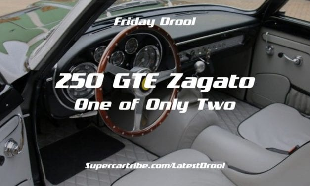 Friday Drool – Ferrari 250 GTE Zagato – One of Only Two