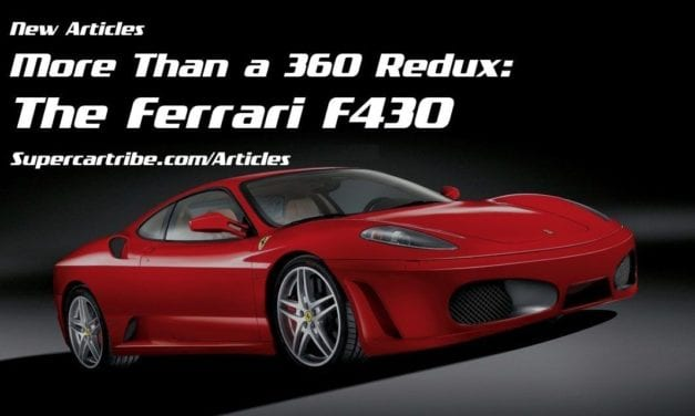More Than a 360 Redux: The Ferrari F430