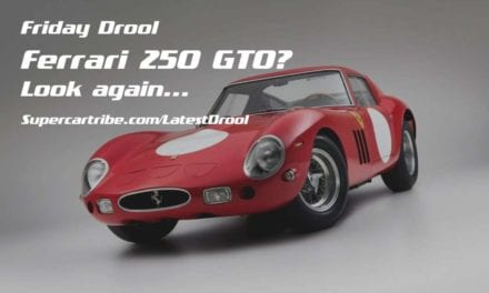 Friday Drool – Ferrari 250 GTO? Look again…