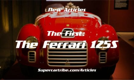 The First: The Ferrari 125 S