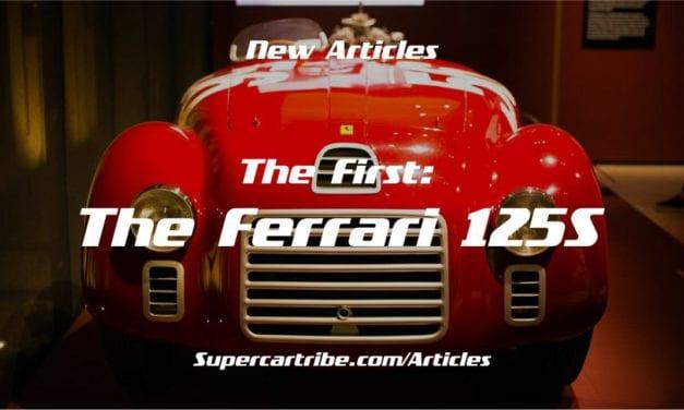 The First: The Ferrari 125 S