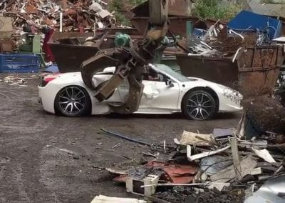 PAY-FOOTAGE-OF-FERRARI-BEING-CRUSHED-IN-SCRAPYARD (1)