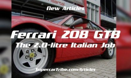 Ferrari 208 GTB – The 2.0-litre Italian Job