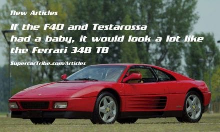 If the F40 and Testarossa had a baby, it would look a lot like the Ferrari 348 TB