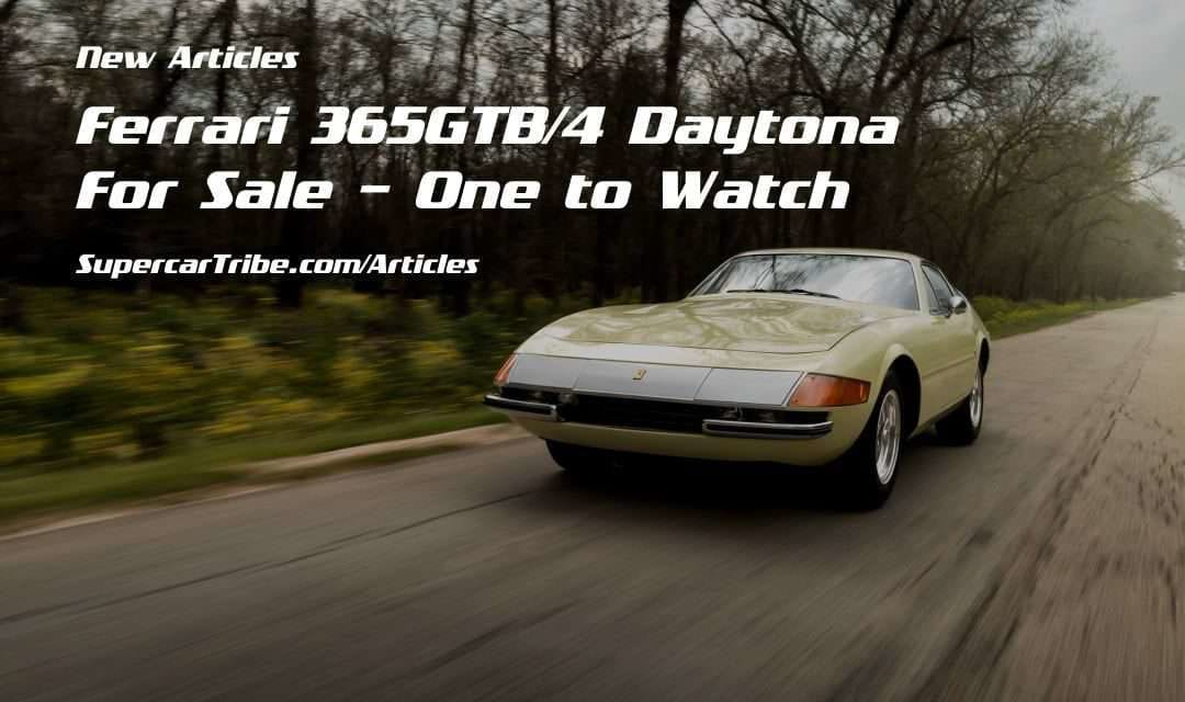 Ferrari 365GTB/4 Daytona For Sale – One to Watch
