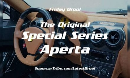 Friday Drool – Scuderia 16M – The Original Special Series Aperta