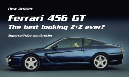 Ferrari 456 GT – The best looking 2+2 ever?