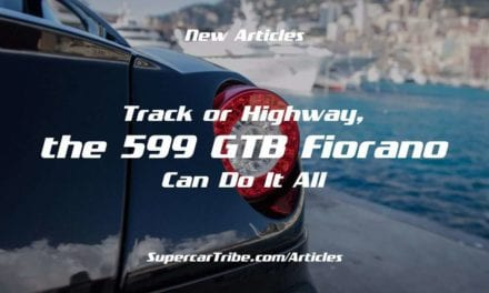 Track or Highway, the 599 GTB Fiorano Can Do It All